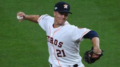 Zack Greinke, who pitched in Game 1 of