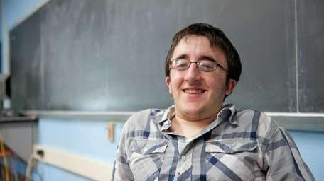Maurizio Fabrizi, 18, who was born with Osteogenesis