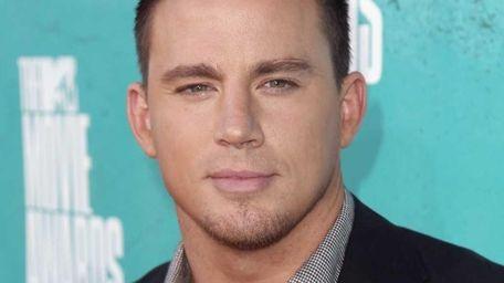 Channing Tatum arrives at the MTV Movie Awards
