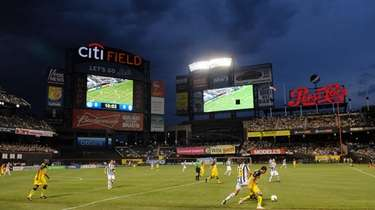 Juventus and Club America battle for the ball