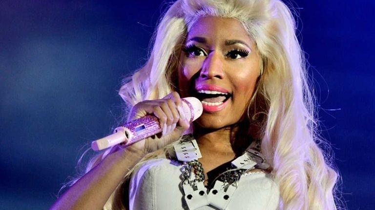 Nicki Minaj performs at 102.7 KIIS FM's Wango