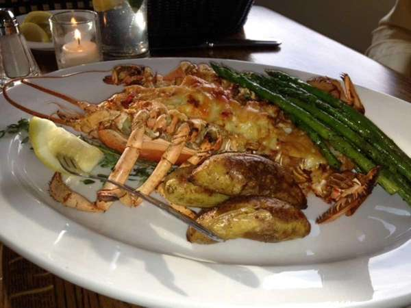 Lobster thermidor at The Bell & Anchor in