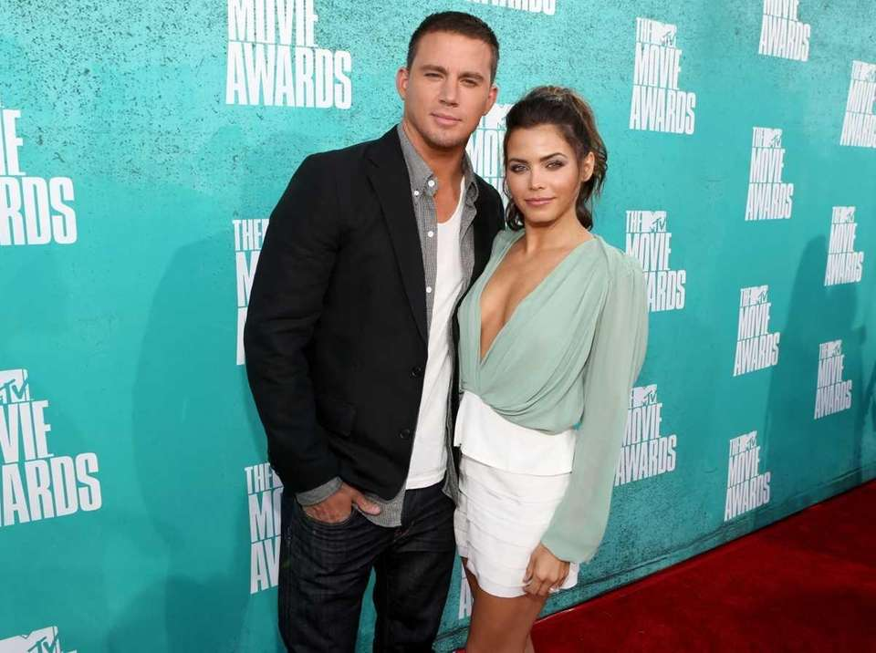 Actors Channing Tatum and Jenna Dewan-Tatum arrive at
