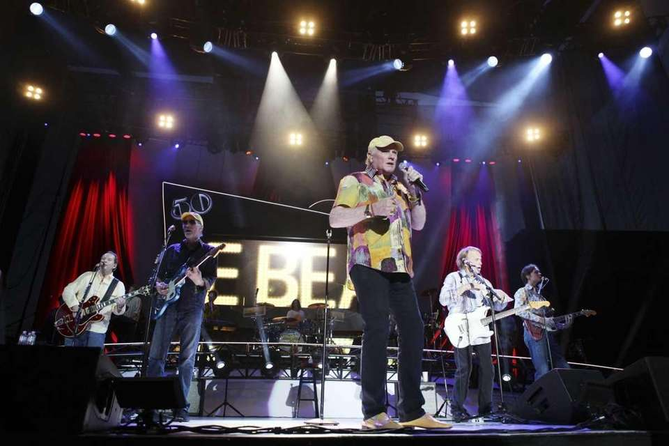 The Beach Boys perform at the Red Rock