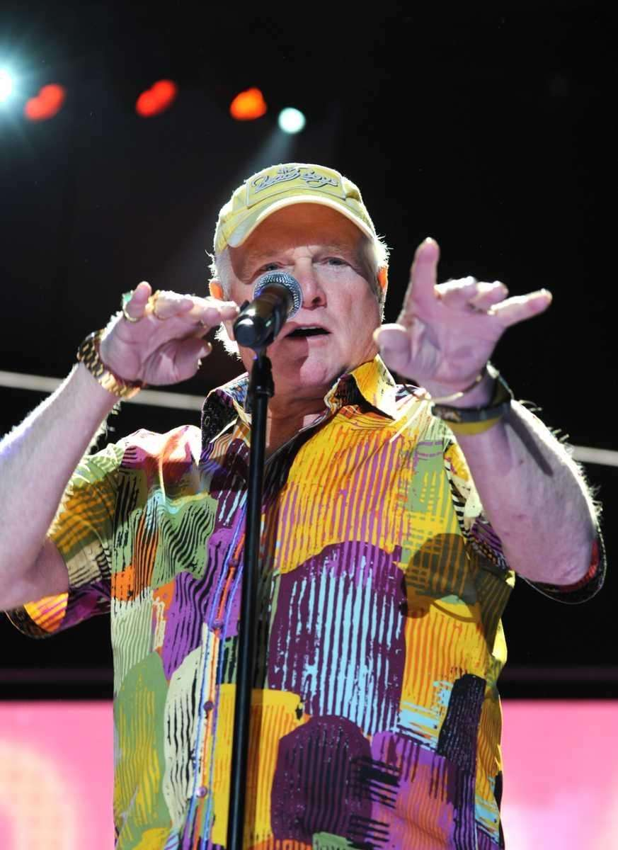 Mike Love and The Beach Boys perform on
