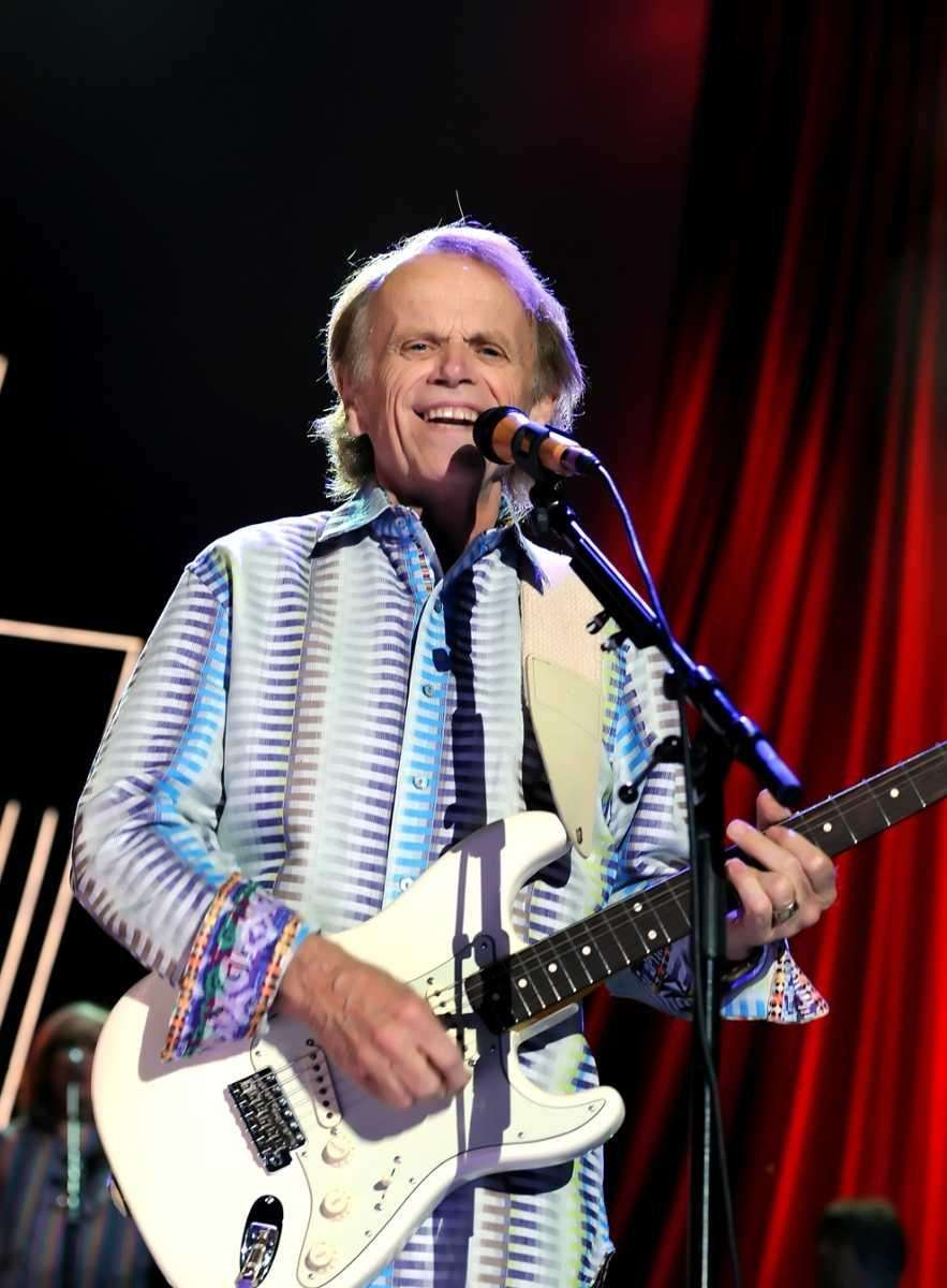 Al Jardine of the Beach Boys is on