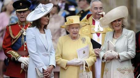 In this file photo, from left: Prince Phillip;