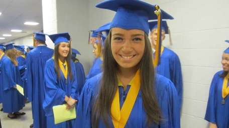 Emileigh Gaeta, 18, of Massapequa Park, who will