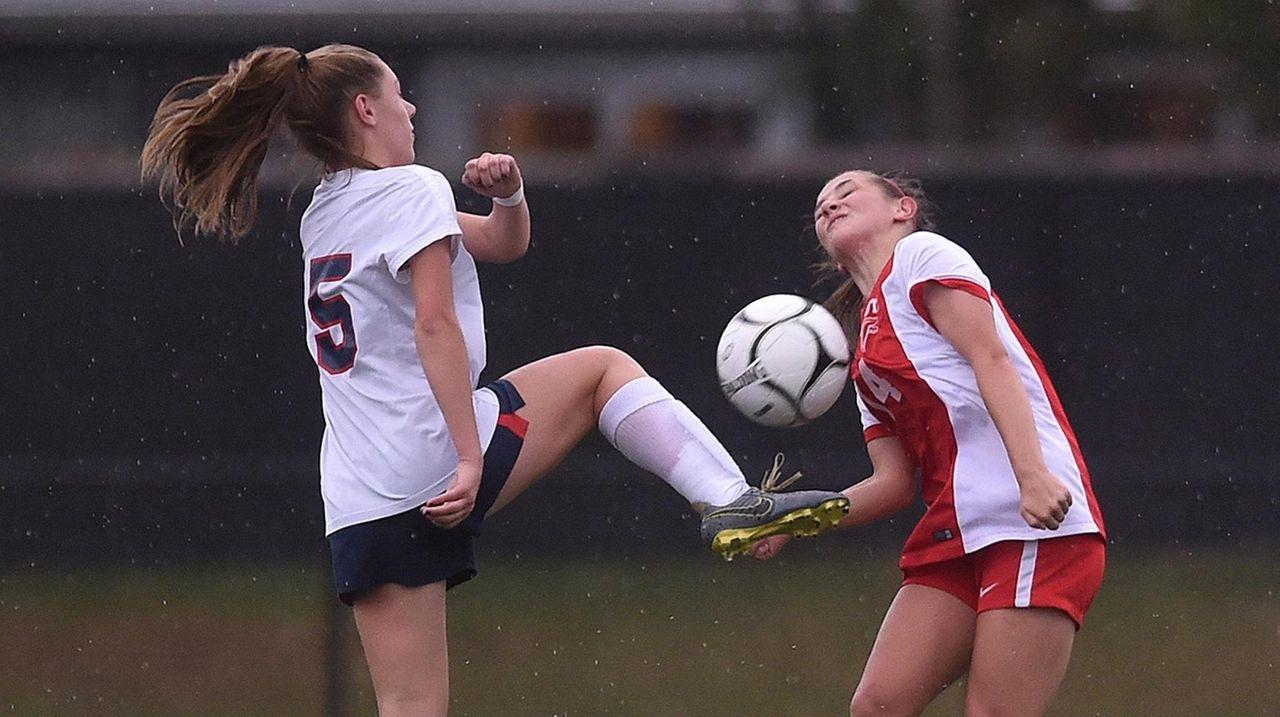 South Side vs. Valley Stream South girls soccer photos