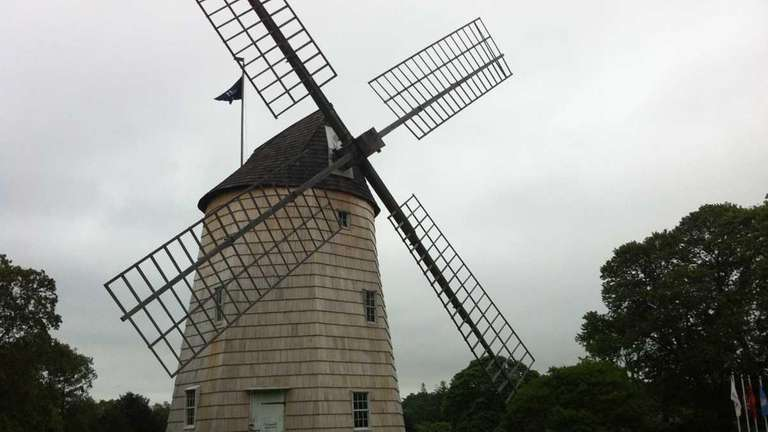 The Hook Windmill, which dates to 1806, is