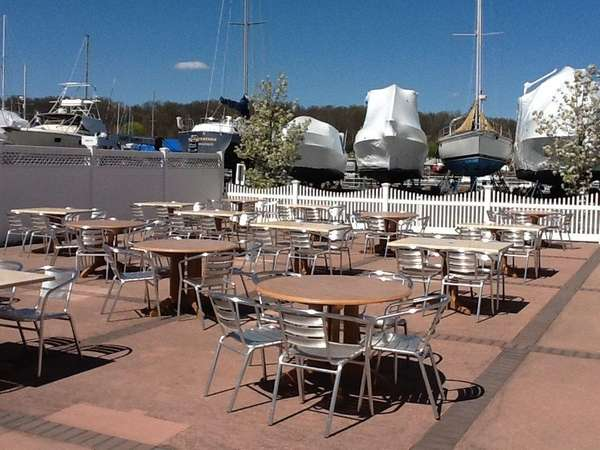 The Boat House Waterside Cafe in Glen Cove.
