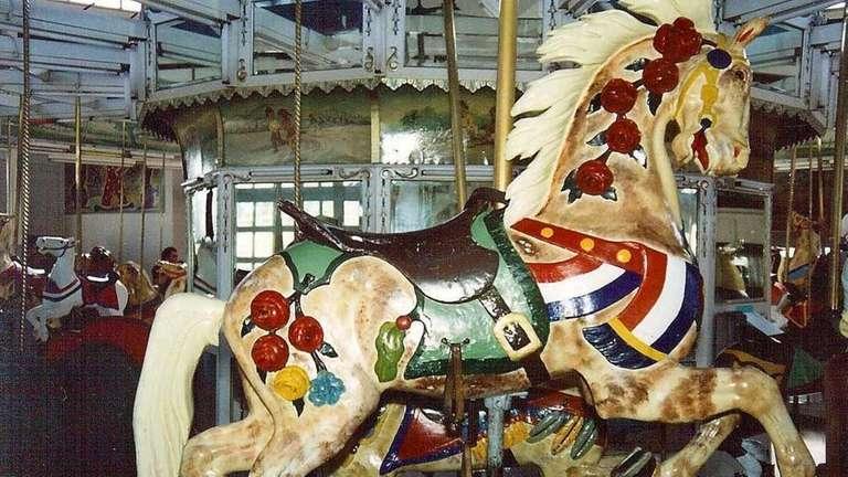 A Stein/Goldstein horse at Nunley's Carousel Horse in