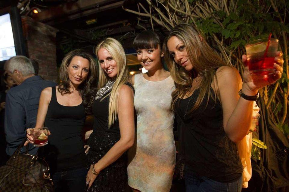 From left, Denee Harpe, Carolyn Heft, Emilia Grabowska