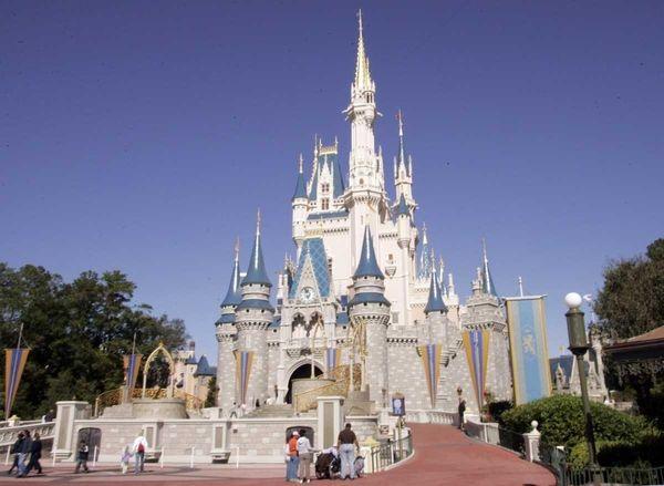 Disney World?s Magic Kingdom in Orlando, Fla. (Jan.