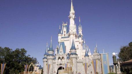 Disney World's Magic Kingdom in Orlando, Fla. (Jan.