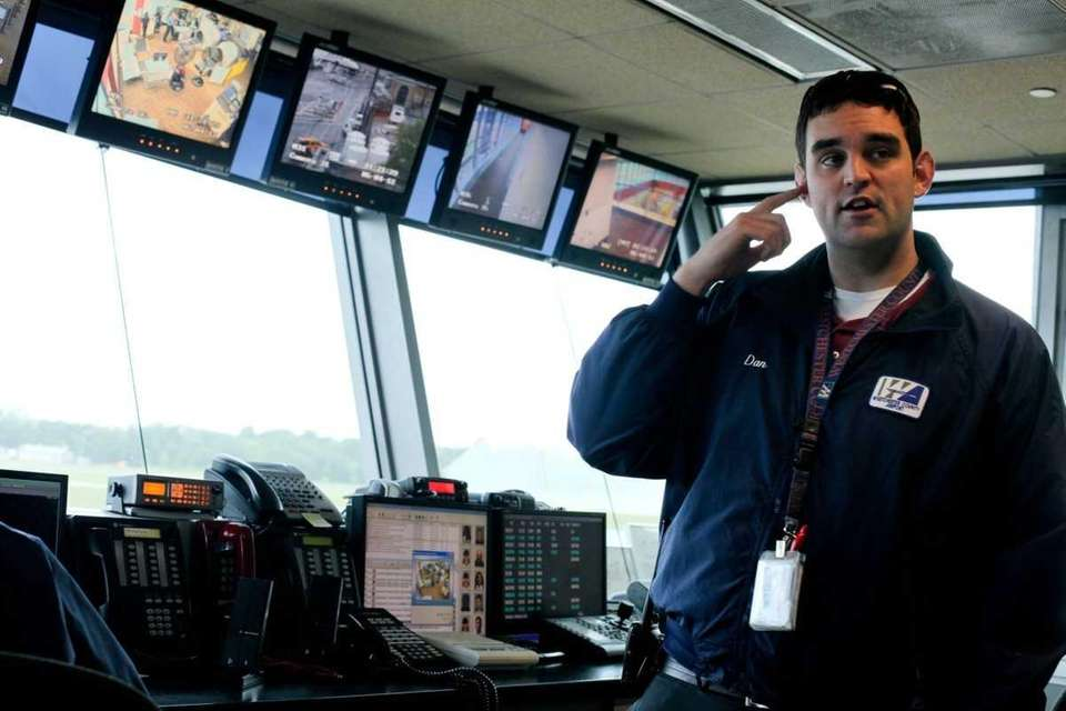 Dan Scanlon, an airport operations manager at Westchester