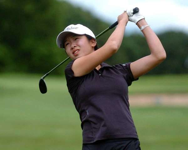 Tina Chang of St. Anthony's High School takes