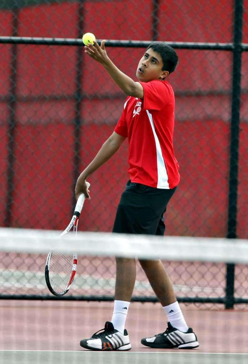 Half Hollow Hills East's Zain Ali with the