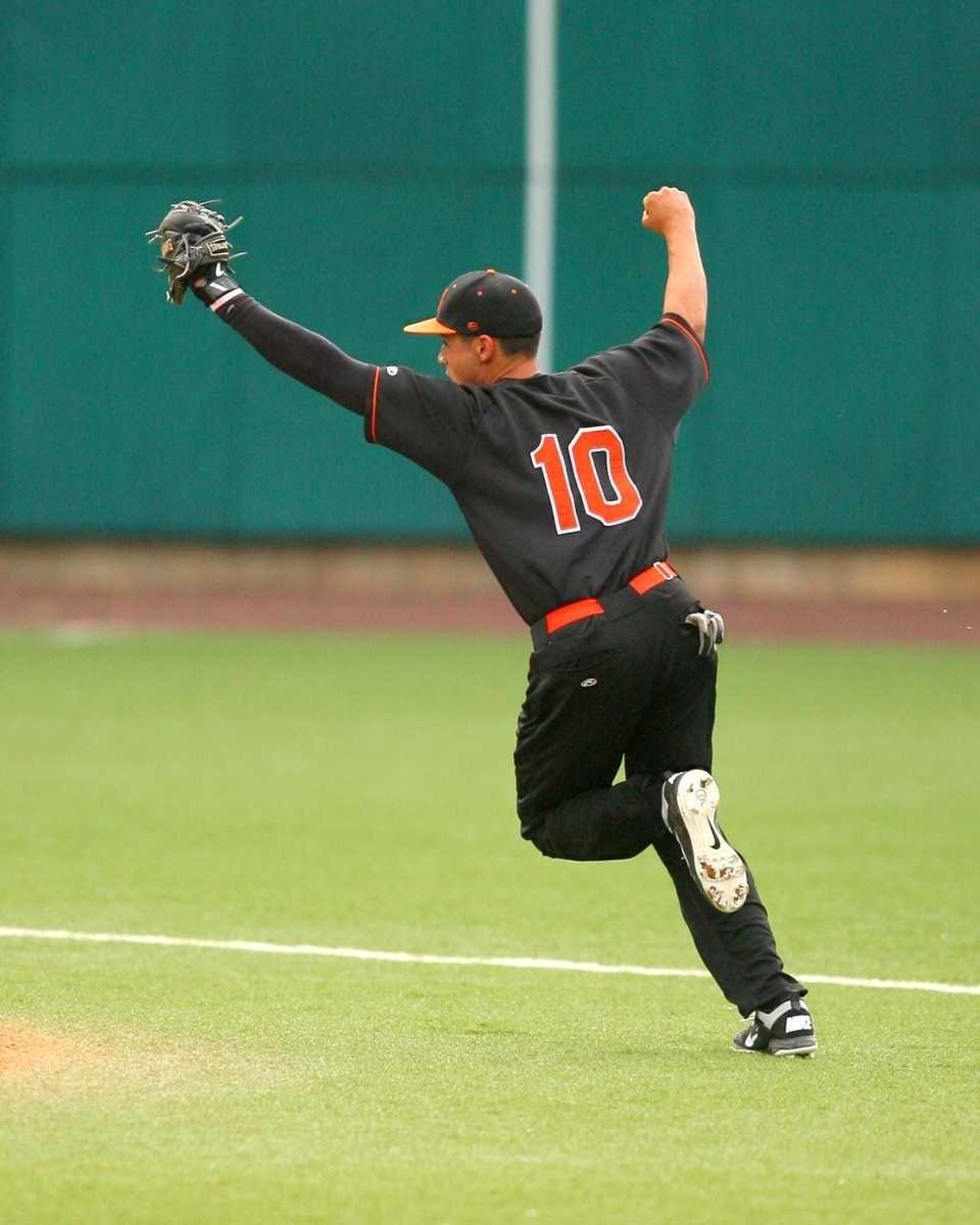 Babylon High School's second baseman Ricky Negron #10