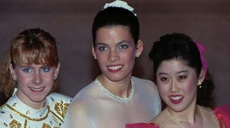 The rivalry between American figure skaters Tonya Harding