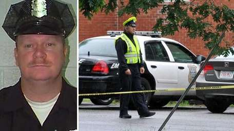 Mass. Police officer Kevin Ambrose was killed in