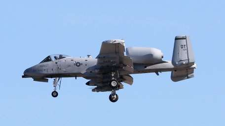 The Pentagon had previously marked the Warthog for