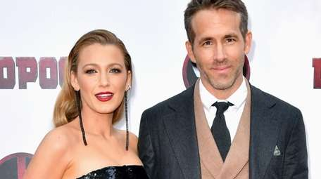 Blake Lively and husband Ryan Reynolds attend