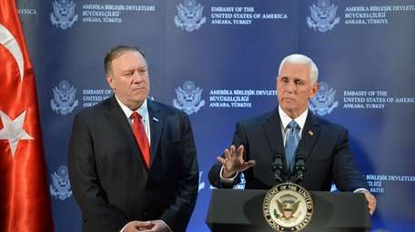 Secretary of State Mike Pompeo and Vice President