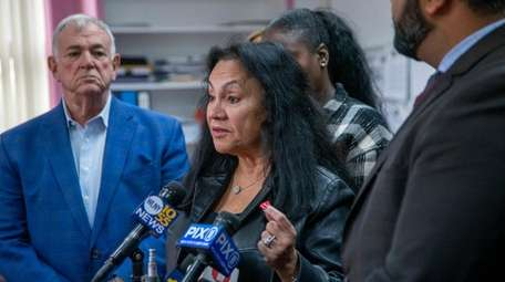 State Board of Regents chancellor Betty Rosa speaks