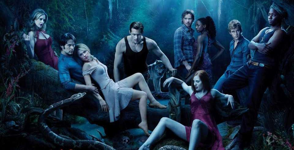 "HBO's season three poster of ""True Blood."