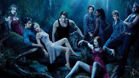 "HBO's season three poster of ""True Blood."