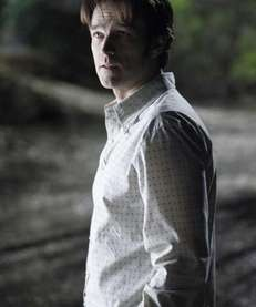"A scene with Stephen Moyer in ""True Blood."""