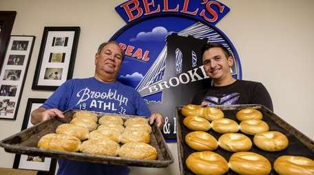 Warren and Jared Bell of Bagels by Bell