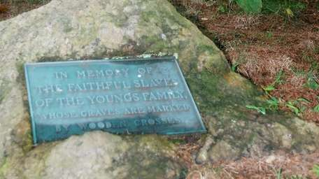There's also a memorial to slaves at Youngs