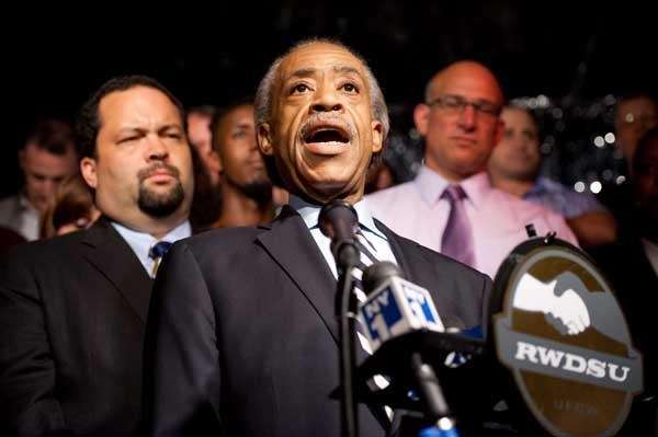 Reverend Sharpton joins leaders and LGBT organizations in