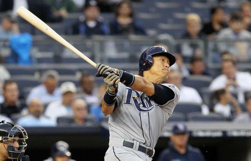 Hideki Matsui of the Tampa Bay Rays in