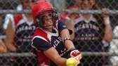 MacArthur's Kristen Brown hits a home run in