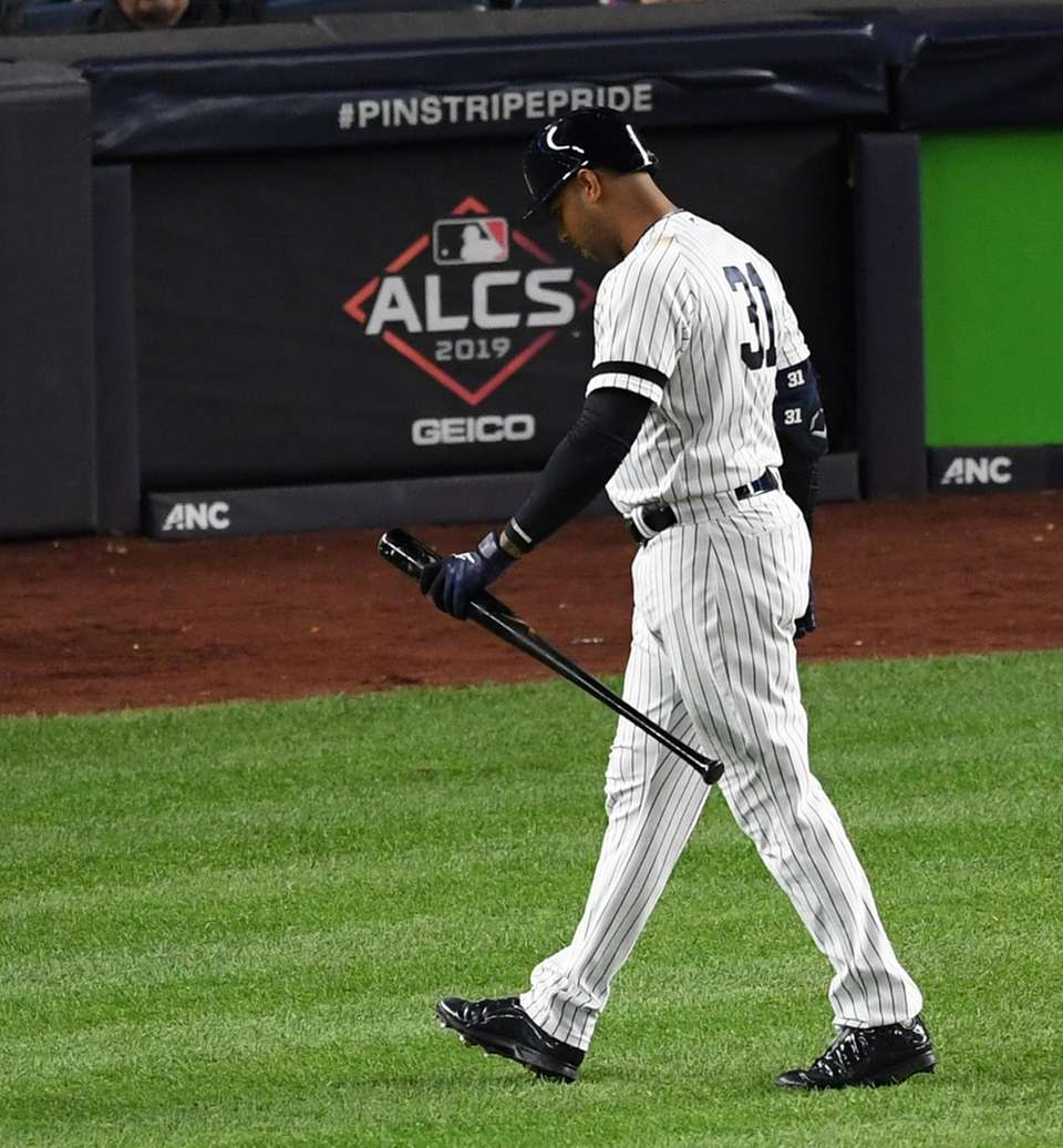 New York Yankees' Aaron Hicks returns to the