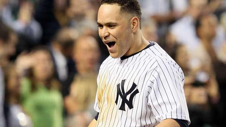 Russell Martin celebrates his fourth inning grand slam