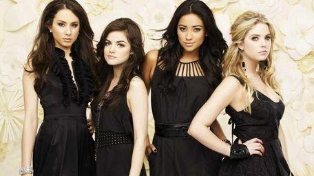 "ABC Family's ""Pretty Little Liars"" stars Troian Bellisario"