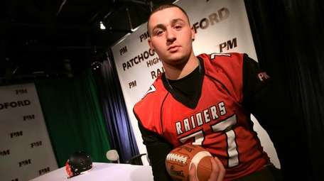 Patchogue-Medford High School senior Sean Christie poses for