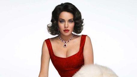 Lindsay Lohan stars as Elizabeth Taylor in the