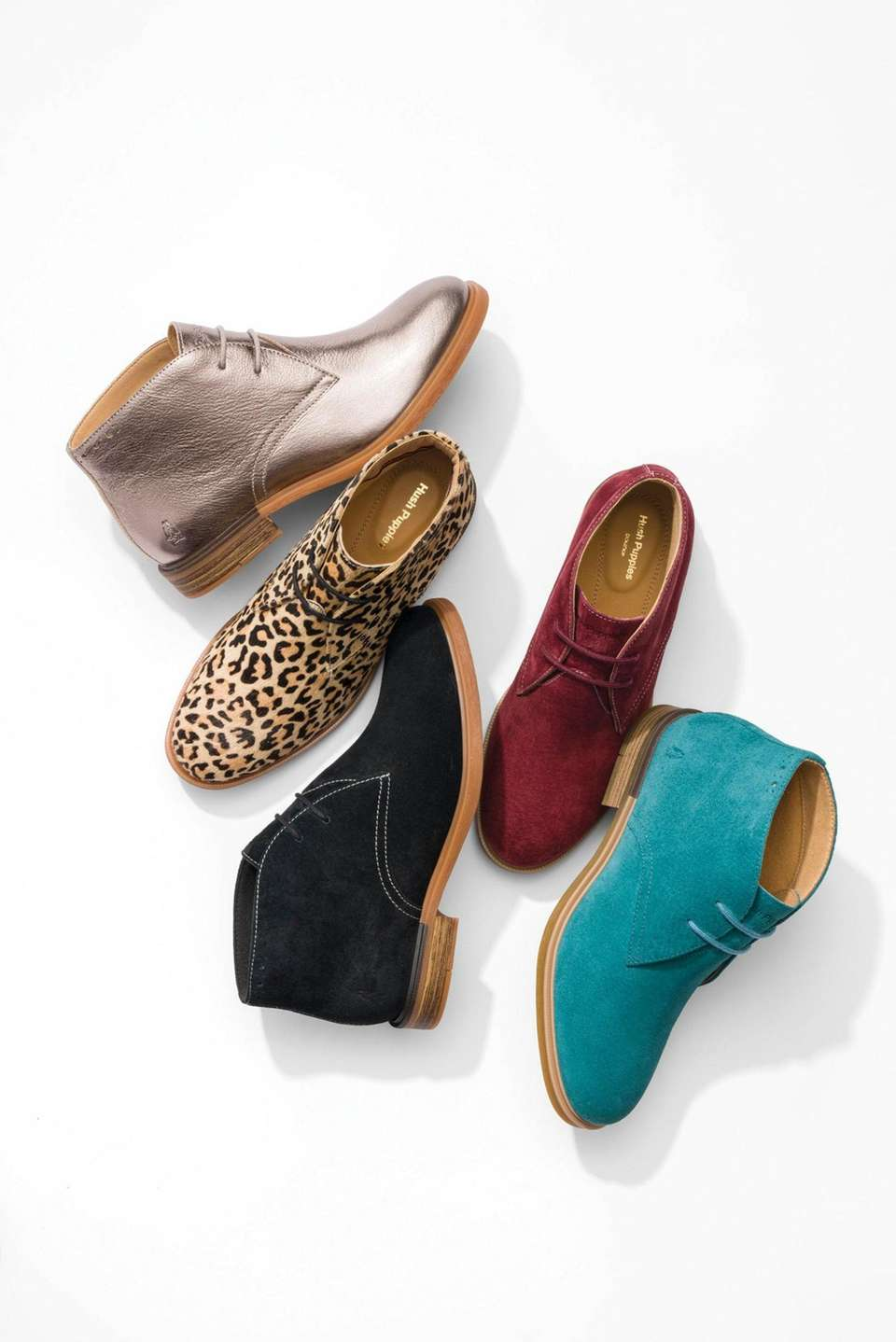 These fun ankle boots are the perfect way