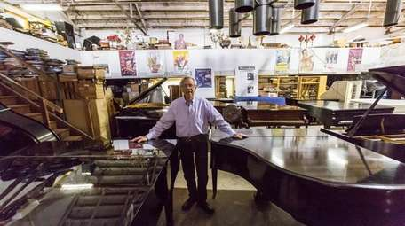 "Richard ""Rick"" Smith's Piano Exchange in Glen Cove"