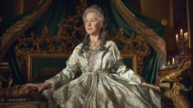 """Helen Mirren in  """"Catherine the Great."""""""