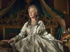 "Helen Mirren in  ""Catherine the Great."""
