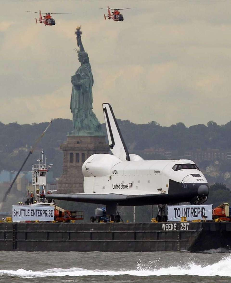 The space shuttle Enterprise, a prototype that never