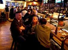 Publicans' new owners kept the pub's 50-plus-year-old bartop,
