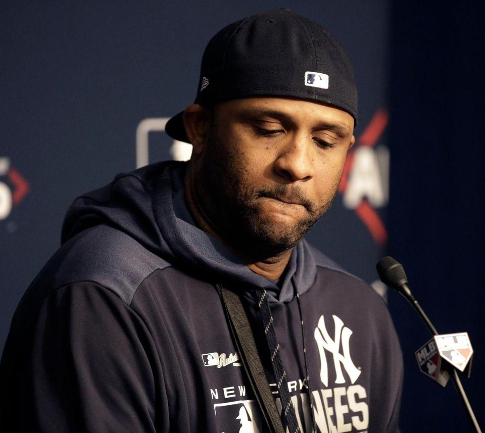 New York Yankees starting pitcher CC Sabathia (52)