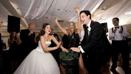 At Jen and Brad Morganstern's October 2011 wedding